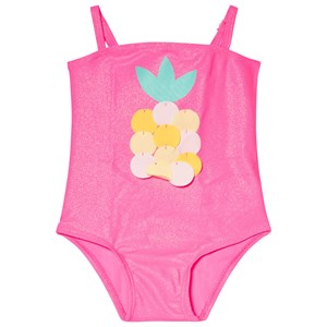 Image of Billieblush Pink Pinapple Swimsuit 9 months (1007655)