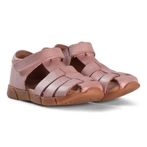 Image of Bisgaard Leather Sandals Rose 31 EU (2974765485)