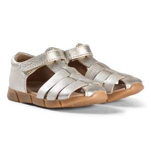 Image of Bisgaard Leather Sandals Silver 28 EU (2974765041)