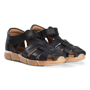 Image of Bisgaard Leather Sandals Black 29 EU (2974765067)
