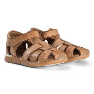 Image of Bisgaard Leather Sandals Cognac 24 EU (2974765253)