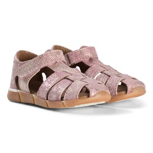 Image of Bisgaard Leather Sandals Rose 27 EU (2974764963)