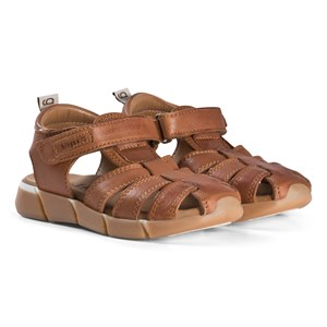 Image of Bisgaard Leather Sandals Cognac 29 EU (2974765275)