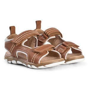 Image of Bisgaard Leather Sandals Cognac 30 EU (2974765301)