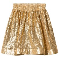 How To Kiss A Frog Windy Skirt Gold Gold