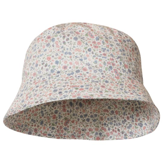 Wheat Floral Sun Hat Ivory Ivory