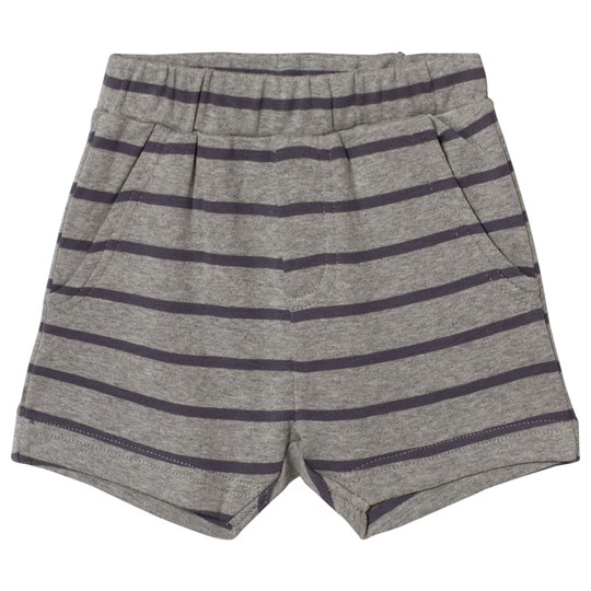 Wheat Aske Shorts Melange Gray Melange Grey
