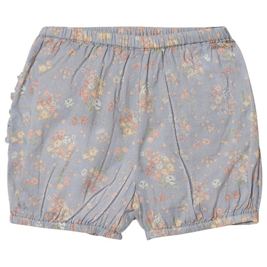 Wheat Floral Mamelucker Sky Blue Sky