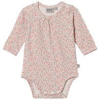 Wheat Floral Print Body Ivory Ivory