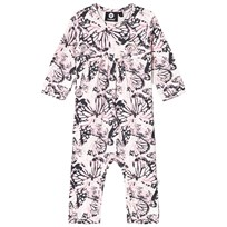 Hummel Butterfly Print One-Piece Lotus Foxglove