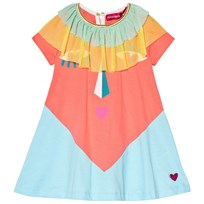 Agatha Ruiz de la Prada Blue And Pink Heart Face Print Blue