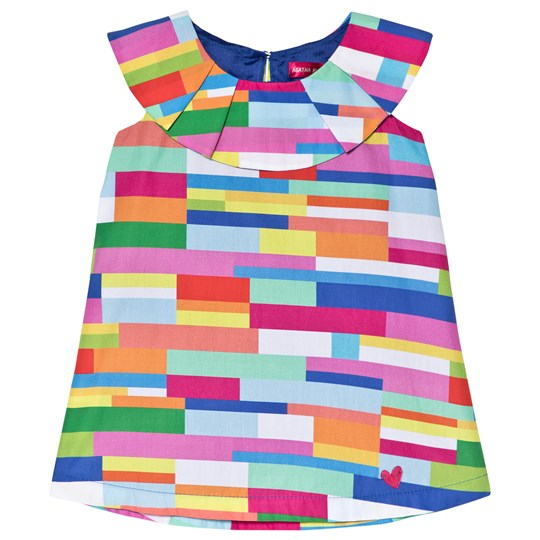 Agatha Ruiz de la Prada Multi Color Block Dress Multicolour