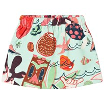 Koolabah SP Delight Mini Skirt Turquoise Разноцветный
