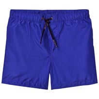 Dolce & Gabbana Blue Tape Branded Swim Shorts HBO39