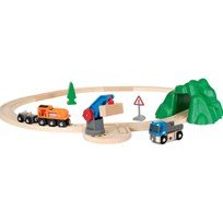 BRIO World Starter Lift & Load Set Green