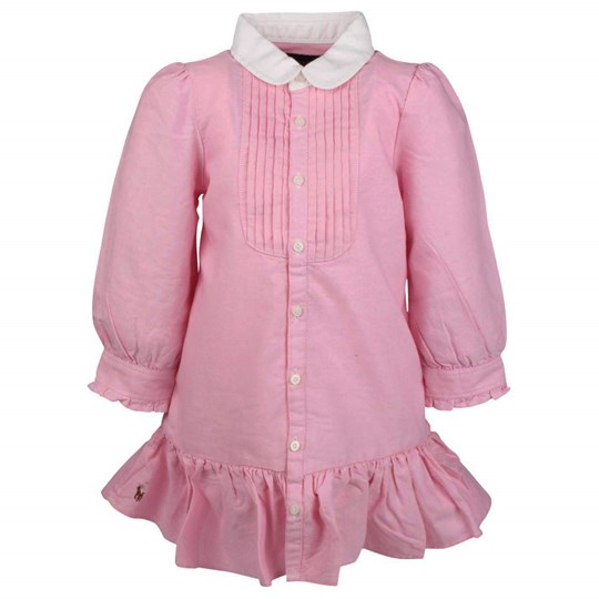 Ralph Lauren Little Solid Oxford Shirt Pink Pink