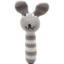 natureZOO Mr. Rabbit Grey Rattle Stick серый