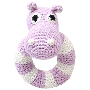 Image of natureZOO Round Rattle Lady Hippo (2743793911)