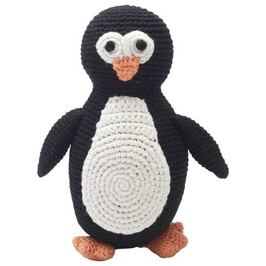 natureZOO Sir Penguin Plush Toy Black/White Black