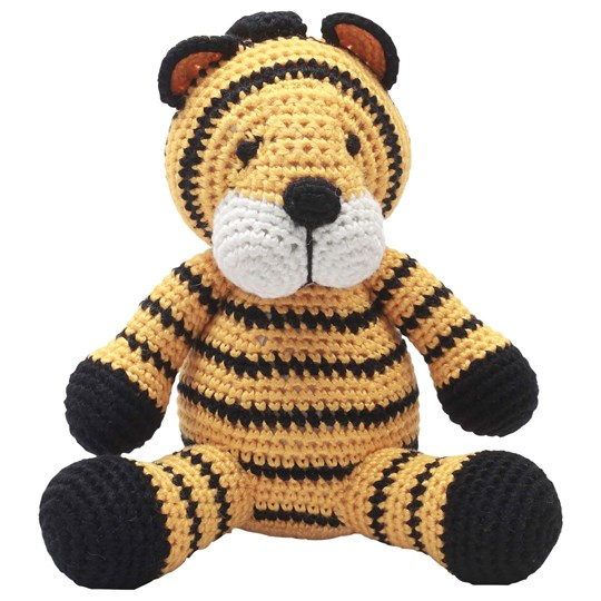 natureZOO Musical Toy Mr Tiger Yellow