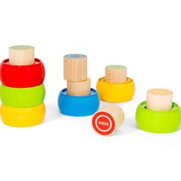 BRIO My First Stacking Tower Yellow