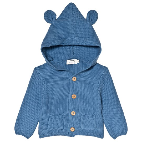 Cyrillus Blue Hoodie with Ears 6419