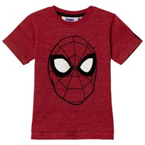 Fabric Flavours Red Spider-Man Embroidered T-Shirt Punainen