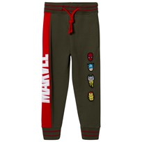 Fabric Flavours Green Marvel Logo Sweatpants Green
