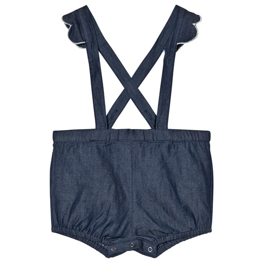 Emile et Ida Chambray Denim Overalls Chambray
