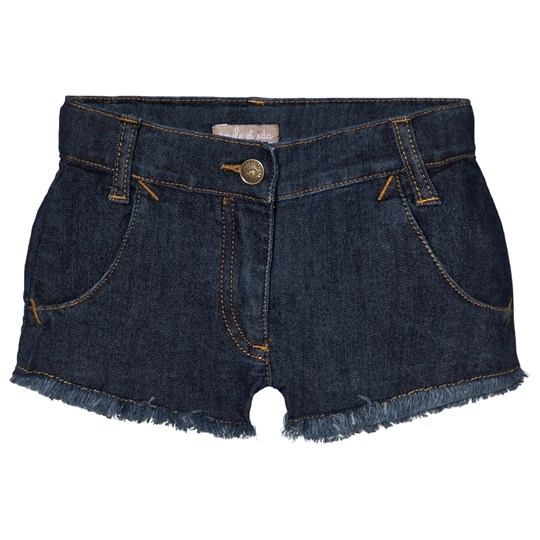 Emile et Ida Denim Shorts Blå Denim