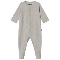 The BRAND Pyjamas Grå Melange Grey Mel