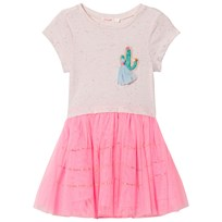 Billieblush Pink Cactus Applique Tutu Dress 49H