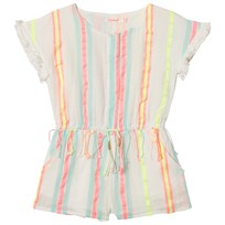 Billieblush Stripe Romper Multi 509