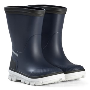 Image of Tretorn Aktiv Rubber Boots Navy/Grey 22 EU (3125276277)