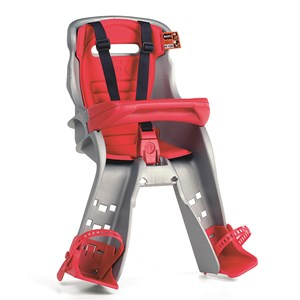 Image of OK-baby Orion Cycle Seat Grey Red Cushion New Attachment (2977472389)