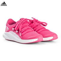 adidas Performance Pink FortaRun Trainers CHALK BLUE S18/AERO PINK S18/FTWR WHITE