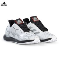 adidas Performance White Star Wars RapidaRun Trainers FTWR WHITE/CORE BLACK/SCARLET