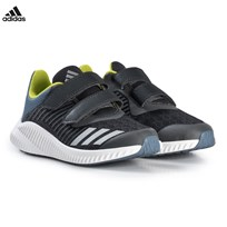 adidas Performance Grey and Silver FortaRun Velcro Sneakers CARBON S18/SILVER MET./RAW STEEL S18