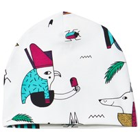 Raspberry Republic Pharaoh Popsicle Beanie White Pharaoh Popsicle
