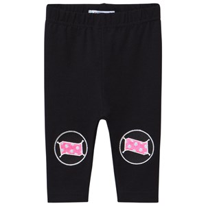 Image of Raspberry Republic Aladdin's Lamp Glow-in-the-Dark Leggings Black 56/62 cm (2977471001)