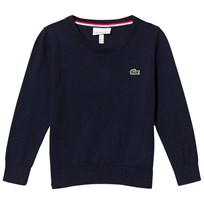 Lacoste Navy Small Logo Sweater Navy Blue