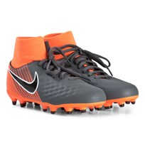 NIKE Dark Grey and Orange Magista Obra Firm Ground Football Boots 080
