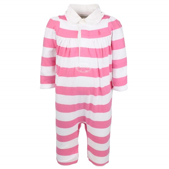 Ralph Lauren Rugby Coverall Bermuda Pink Pink