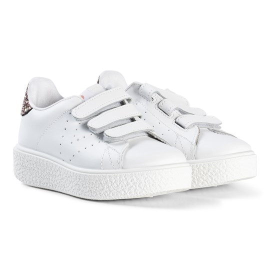 Victoria Leather Velcro Sneakers Rosa Lyserød
