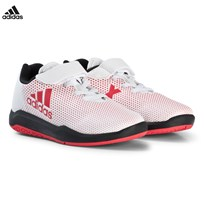adidas Performance White and Red AltaTurf X Trainers FTWR WHITE/REAL CORAL S18/CORE BLACK