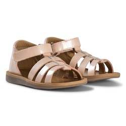 Pom d'Api Neutral Poppy Strap Sandals