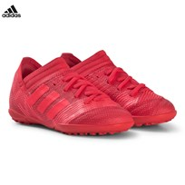 adidas Performance Red and Black Nemeziz Tango 17.3 Turf Soccer Boots REAL CORAL S18/RED ZEST S13/REAL CORAL S18
