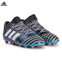 adidas Performance Gray Nemeziz Messi 17.3 Firm Ground Soccer Boots GREY/FTWR WHITE/CORE BLACK