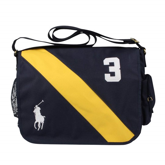Ralph Lauren Messenger Bag Newport Navy Blue