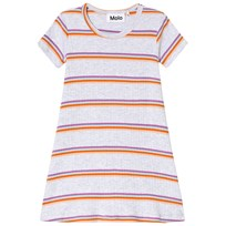 Molo Campa Dress Mini Sunset Stripe Mini Sunset Stripe